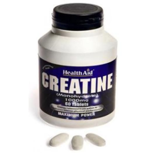 Health Aid Creatine 1000mg X 60 Tabs
