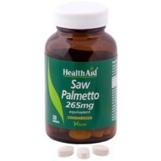 Health Aid Saw Palmetto X 30 Tabs