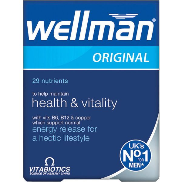 Vitabiotics Wellman Original X 30 Tabs
