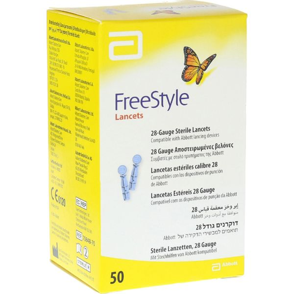 Abbott Freestyle Lancets 50 Pack