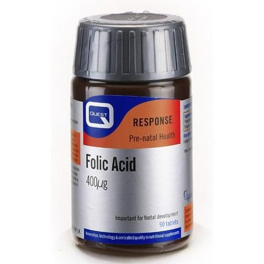 Quest Folic Acid 400mg X 90 Tabs