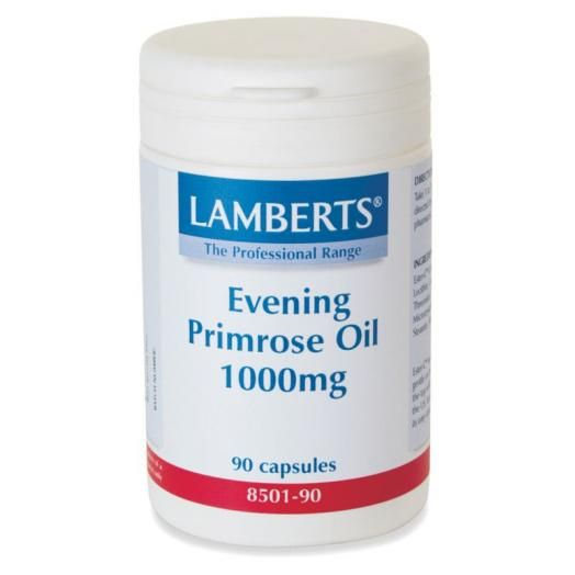 Lamberts Evening Primose Oil 1000 mg (Ω6) X 90 Caps