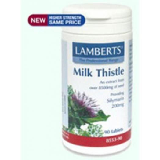 Lamberts Milk Thistle 8500 mg X 90 Tabs