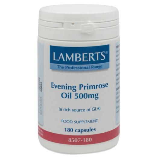 Lamberts Evening Primrose Oil 500 mg X 180 Caps (Ω6)