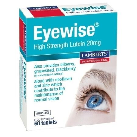 Lamberts Eyewise High Strength Lutein 20 mg X 60 Tabs
