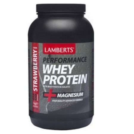 Lamberts Whey Protein Strawberry 1000 gr
