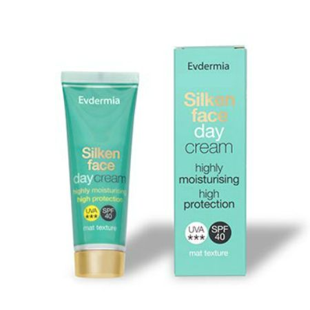 Evdermia Silken Face Day Cream Spf 40 50 ml