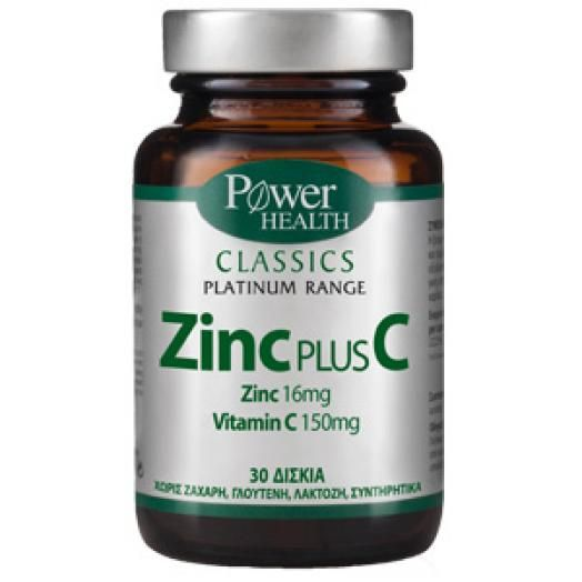 Power Health Zinc Plus C X 30 Tabs