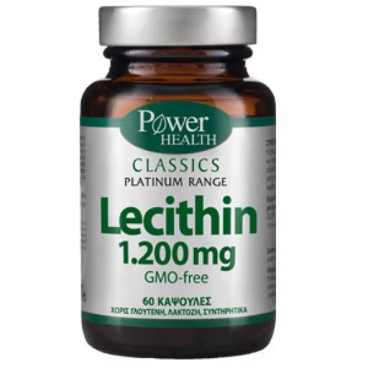 Power Health Lecithin 1200 mg X 60 Caps