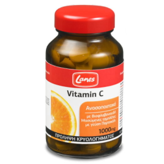 Lanes Vitamin C Chewable 1000 mg X 60 Tabs