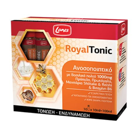 Lanes Royaltonic 10 ml X 10 Amps