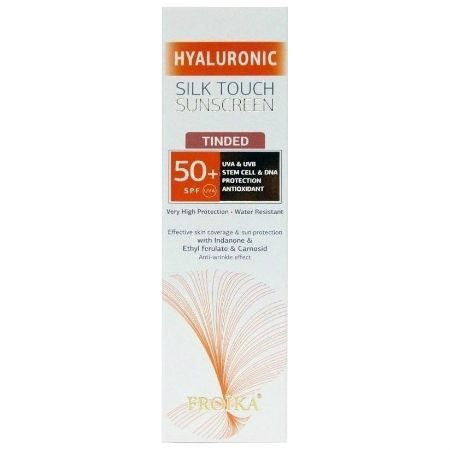 Froika Hyaluronic Silk Touch Sunscreen Tinted Spf 50+ 40 ml