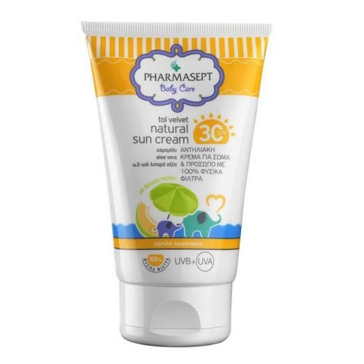 Pharmasept Tol Velvet Baby Natural Sun Cream Spf 30 100 ml