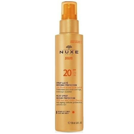 Nuxe Sun Milky Spray Spf 20 For Face & Body 150 ml