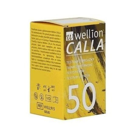 Wellion Calla X 50 Strips