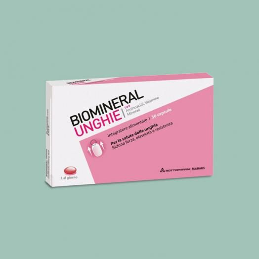 Biomineral Unghie Food Supplement x 30 Caps