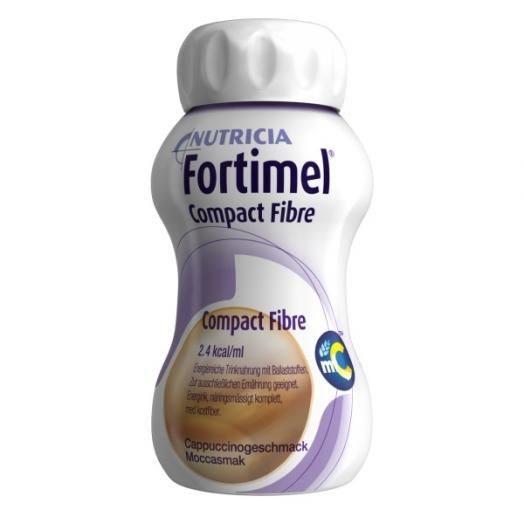 Fortimel Compact Μόκα 125 ml X 4 Τμχ