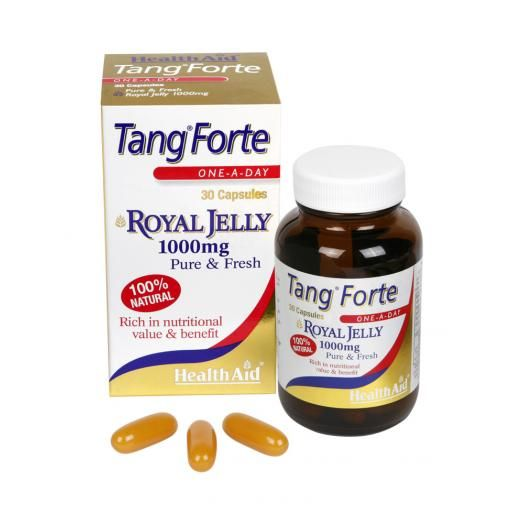 Health Aid Tang Forte Royal Jelly 1000 mg X 30 Caps