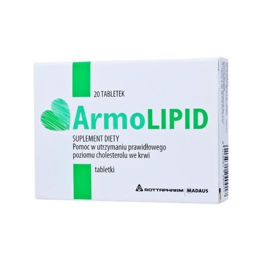 Armolipid X 20 Tabs