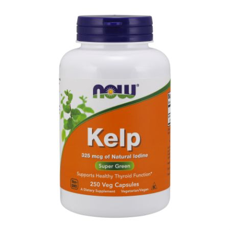 Now Foods Kelp 325Mcg X 250 Vcaps