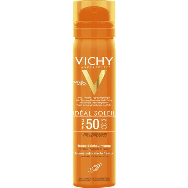 Vichy Ideal Soleil Face Mist Spf50 75 ml