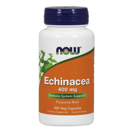 Now Foods Echinacea 400 mg X 100 Caps