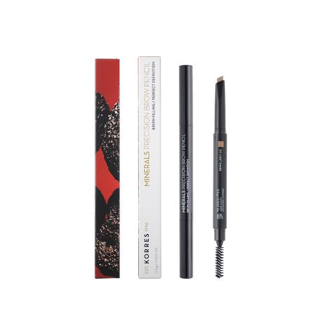 Korres Minerals Precision Brow Pencil 03 Light Shade 0.2 G