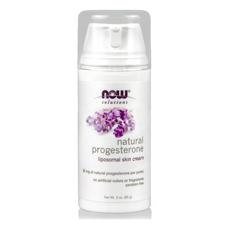 Now Solutions Natural Progesterone Skin Cream 85 G