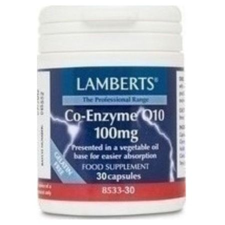 Lamberts Co-Enzyme Q10 100 mg X 30 Caps