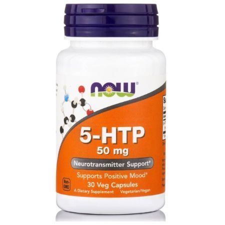 Now Foods 5-Htp 50 mg X 30 Vcaps