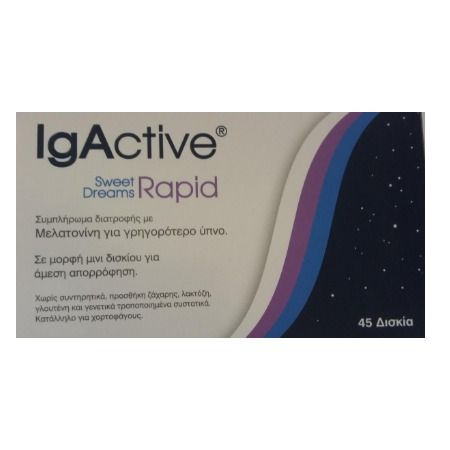 Igactive Sweet Dreams Rapid X 45 Tabs