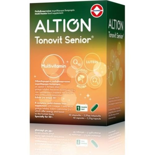 Altion Tonovit Senior x 40 Caps