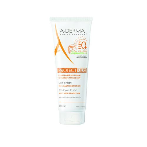 A-Derma Protect Kids Children Lotion Very High Protection SPF50+ 250ml