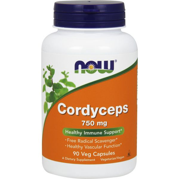 Now Foods Cordyceps 750 mg x 90 Vcaps