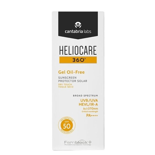 Heliocare 360 Gel Oil-Free Dry Touch SPF50+ 50 ml