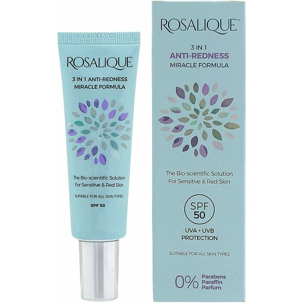 Rosalique 3 in 1 Anti-Redness Miracle Formula Spf50 30 ml