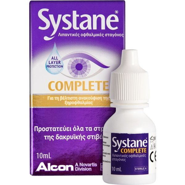 Systane Complete Drops 10 ml
