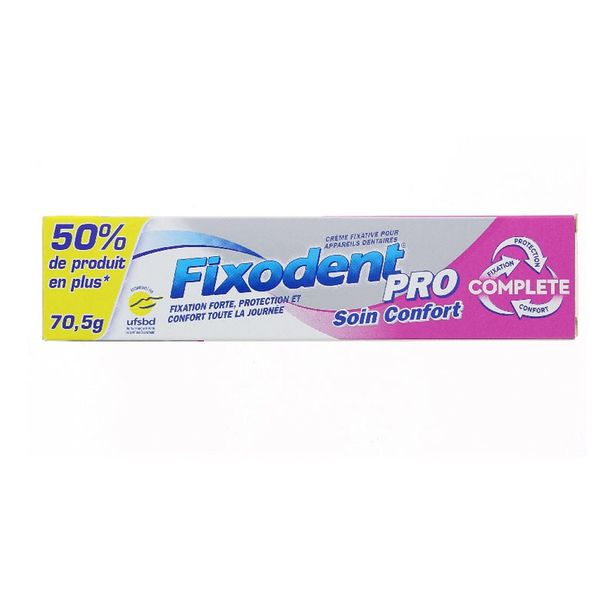 Fixodent Pro Complete Comfort Care 70,5 gr