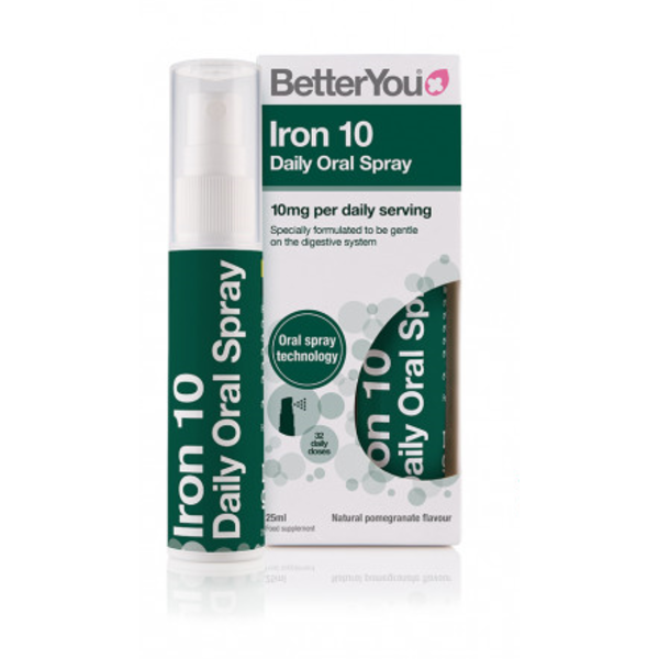BetterYou Iron Oral Daily Spray 10 mg 25 ml