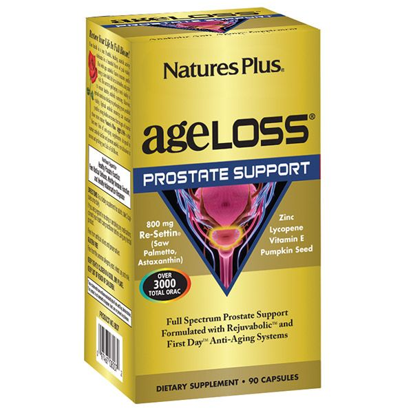 Nature's Plus Ageloss Prostate Support 90vcaps