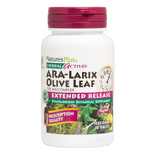 Nature's Plus Ara-Larix Olive Leaf 30Tabs