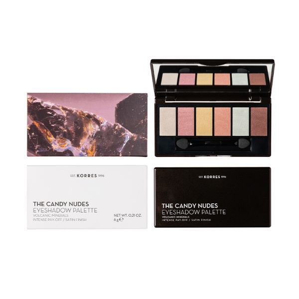 Korres The Candy Nudes Eyeshadow Palette 6 G