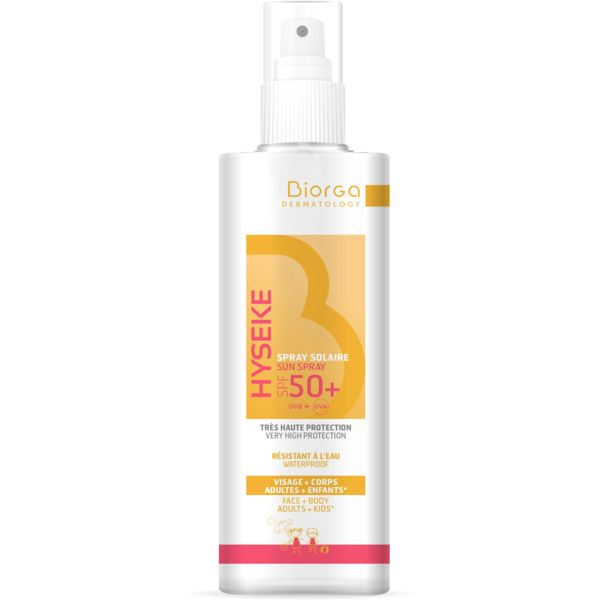 Biorga Hyseke Face & Body Sun Spray Spf50+ 200ml