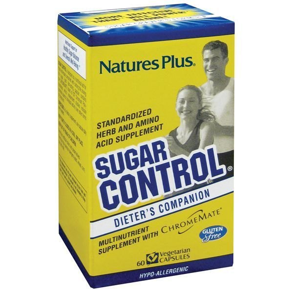 Nature's Plus Sugar Control Sugar Craver's Formula 90 veg caps