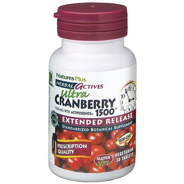 Nature's Plus Ultra Cranberry 1500 Extended Release 30 veg tabs