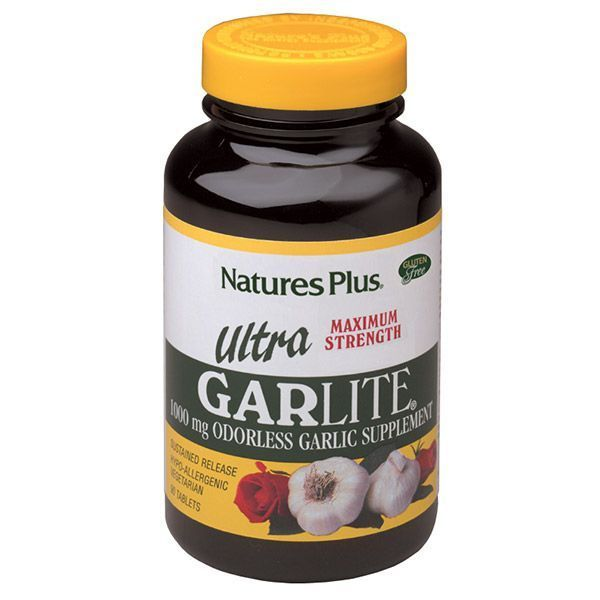 Nature's Plus Ultra Garlite 1000 mg odorless 90 tabs