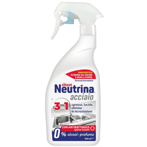 Medworld Neutrina Acciaio 500 ml