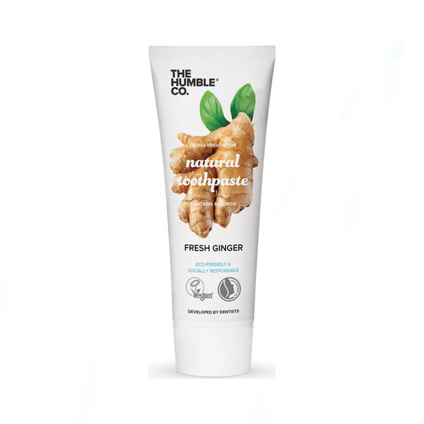 The Humble Co. Natural Toothpaste Ginger 75ml
