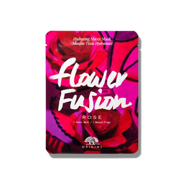Origins Flower Fusion Hydrating Sheet Mask Rose 1 Τεμ