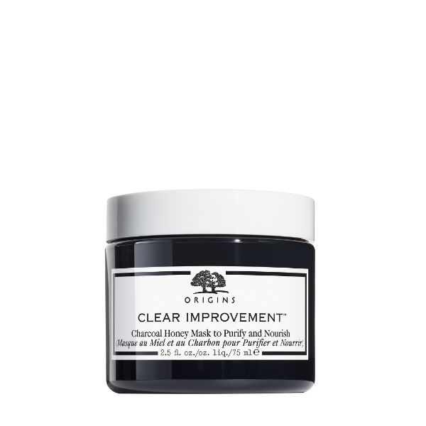 Origins Clear Improvement Charcoal Honey Mask to Purify and Nurish 75ml